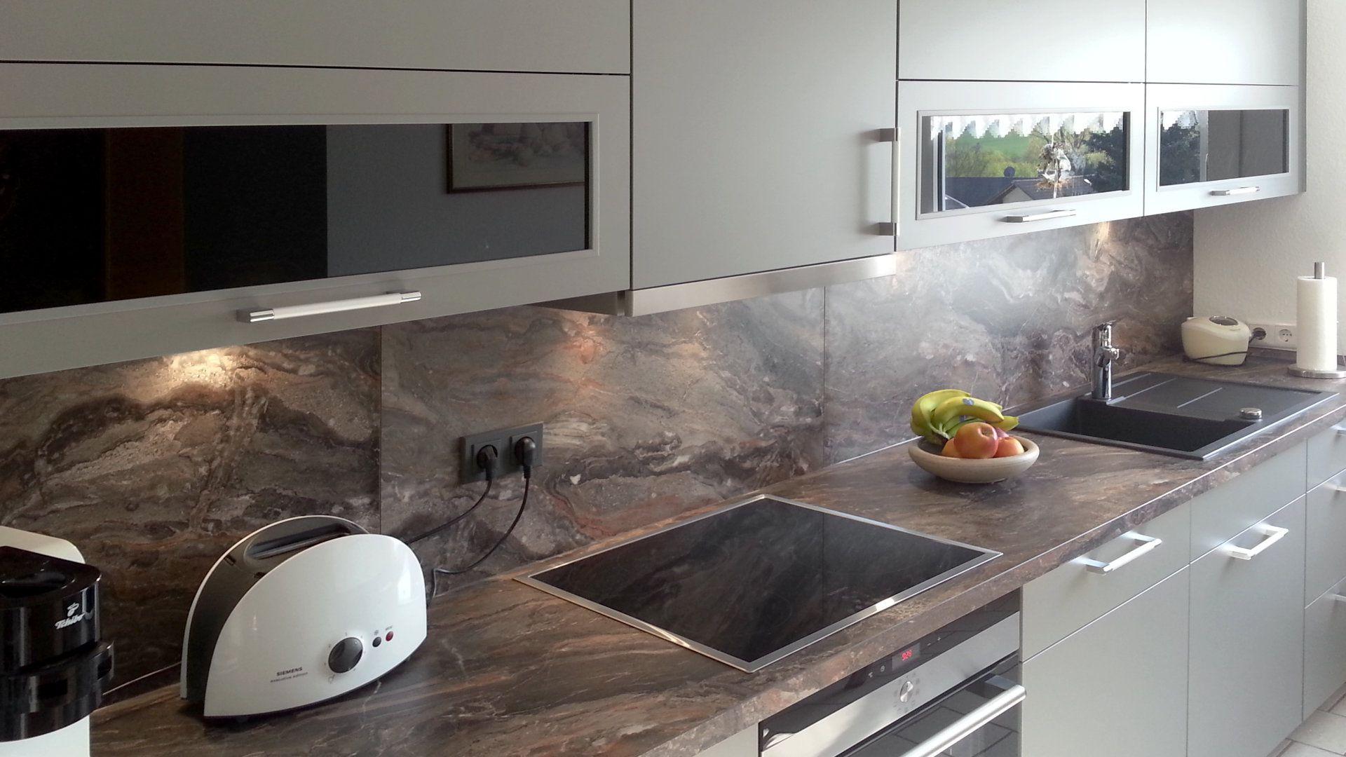 küche arbeitsplatte marmor. lange schmale küche einrichten